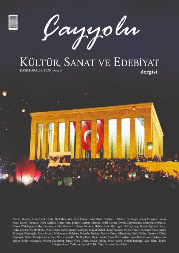 Çayyolu Kültür Sanat ve Edebiyat Dergisi, Sayı 3