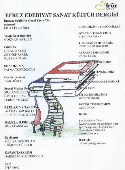 Efruz Dergisi, Sayı 3-2